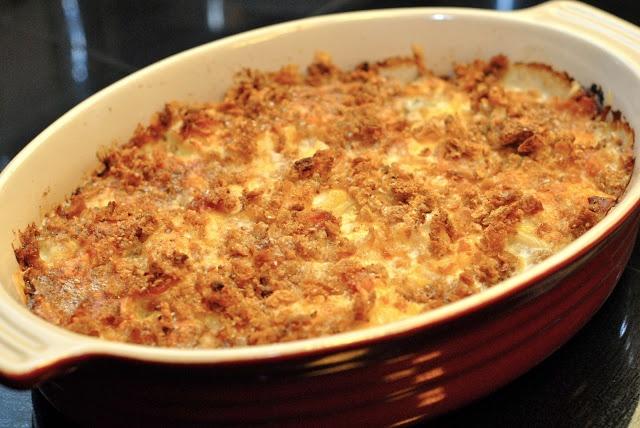 2 Savory Palates: Scalloped Potatoes with Smoked Gouda and Pancetta