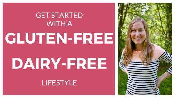 Need to cut gluten and dairy and not sure where to start? Get started with a gluten-free dairy-free lifestyle with these free resources.