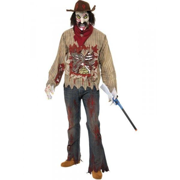 Disfraz de vaquero zombie