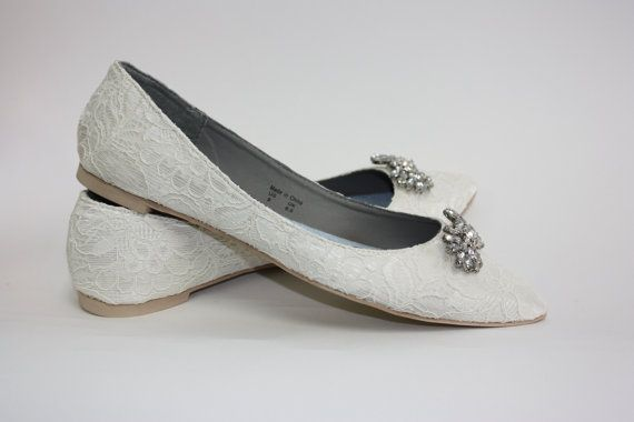 Hey, I found this really awesome Etsy listing at https://www.etsy.com/listing/124887215/wedding-shoes-lace-flats-lace-wedding
