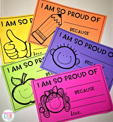 Positive notes to send home to parents!
