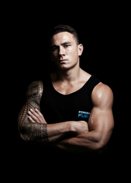 Sonny Bill Williams: Powerade Print Campaign