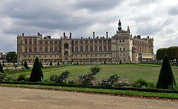 The Château de Saint-Germain-en-Laye