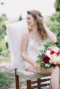 delicate bridal morning утро невесты