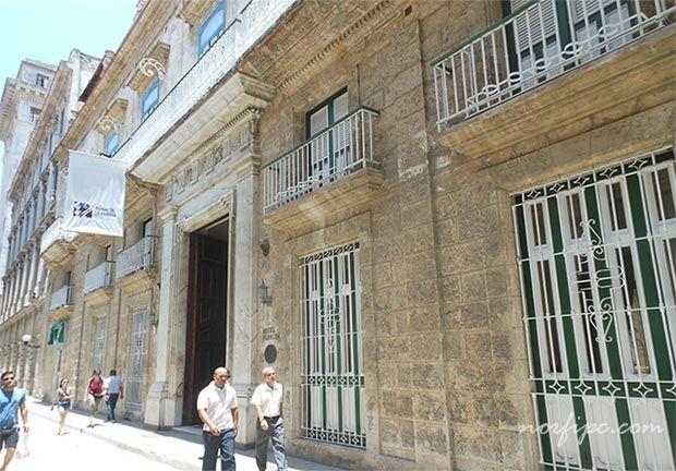 Hotel Florida en la calle Obispo en la Habana Vieja