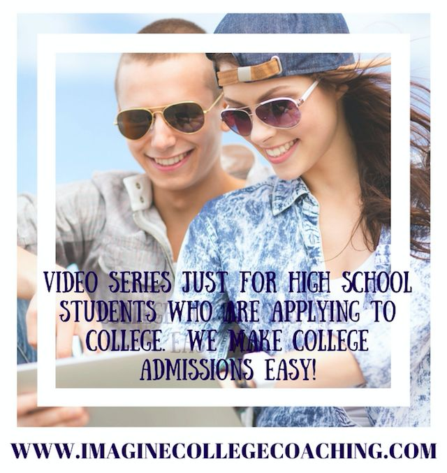 A library of videos to help your teen through the college admissions  process!