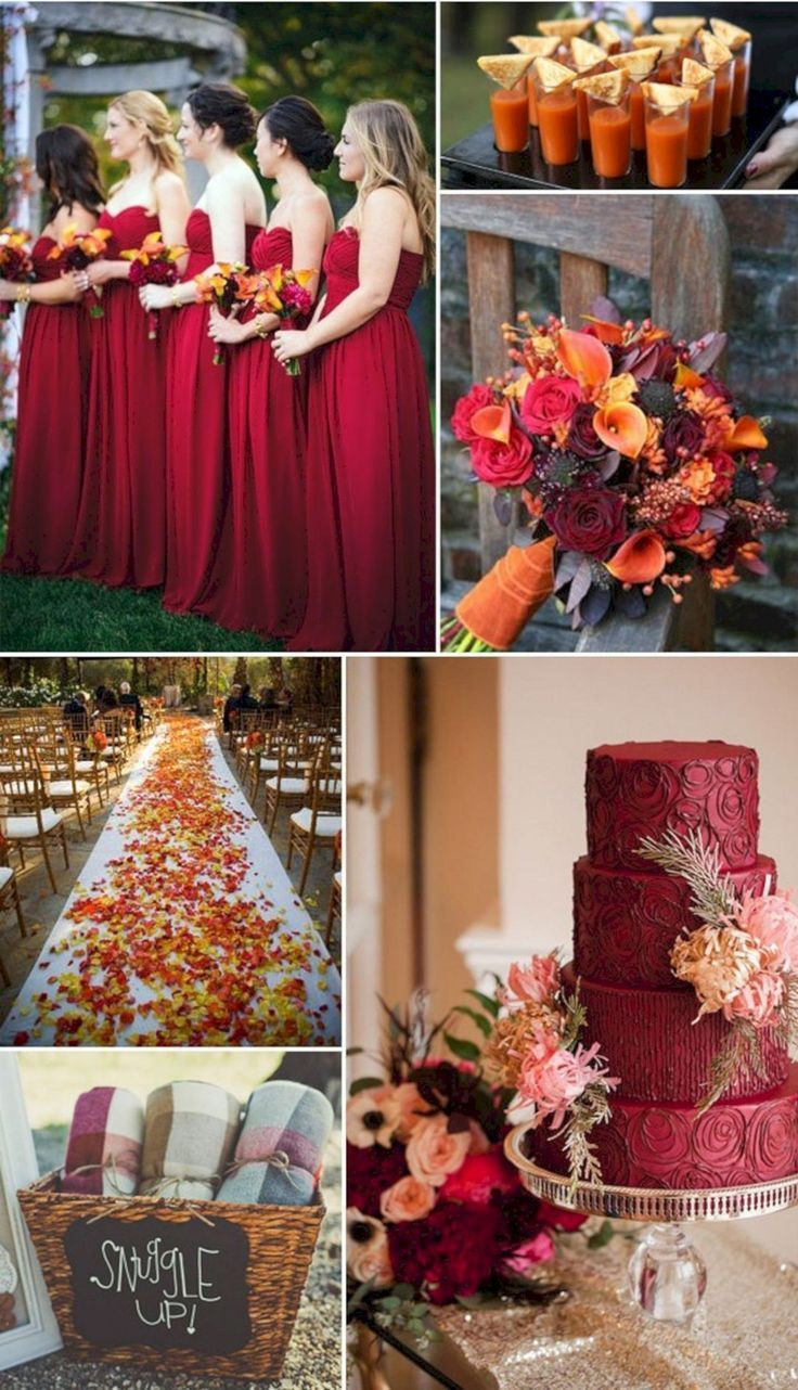 Cool 55 Beautiful Vintage Fall Wedding Colors Ideas oosile.com/  Wedding