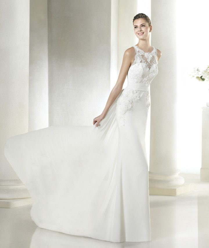 Modern, sophisticated and simply gorgeous. San Patrick 2015 Bridal Collection