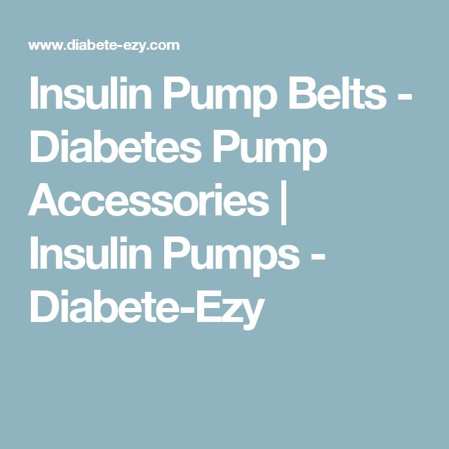 how to use an insulin pump for diabetes