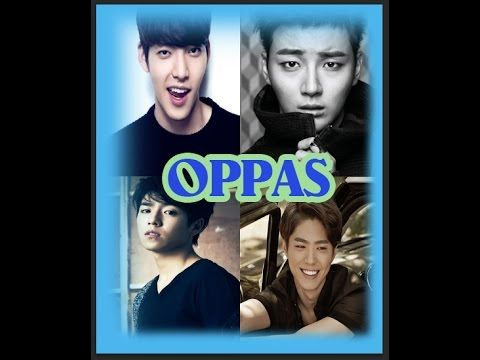 Park Bo Gum, Yoon Shi Yoon, Lee hyun Woo y Kim Wo Bin Idols coreanos