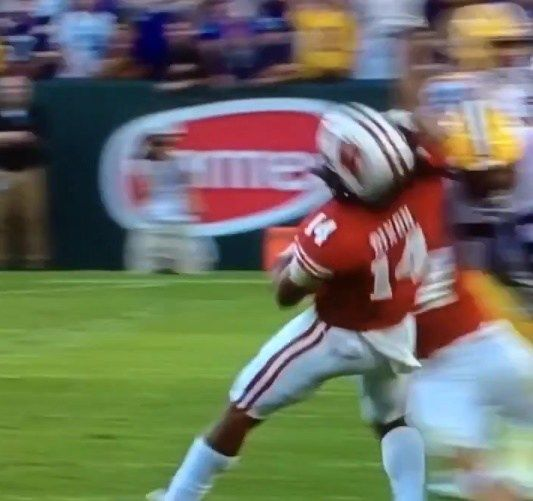 Les Miles will review Josh Boutte's late hit against Wisconsin - http://www.truesportsfan.com/les-miles-will-review-josh-bouttes-late-hit-against-wisconsin/