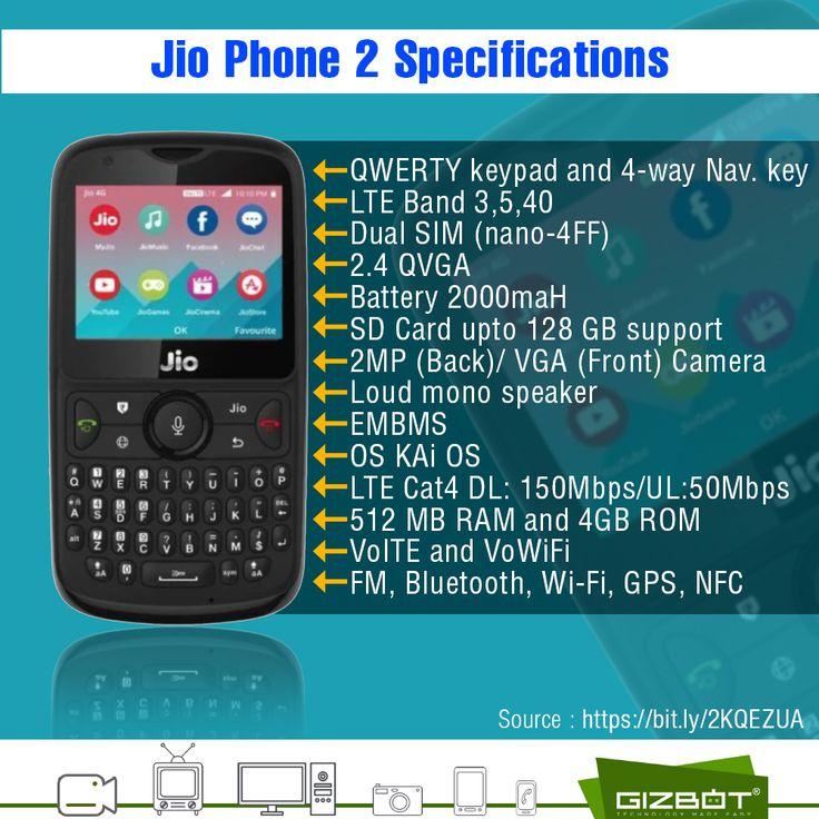 JioPhone2 Specification. Dual sim, Phone, Mobile phone
