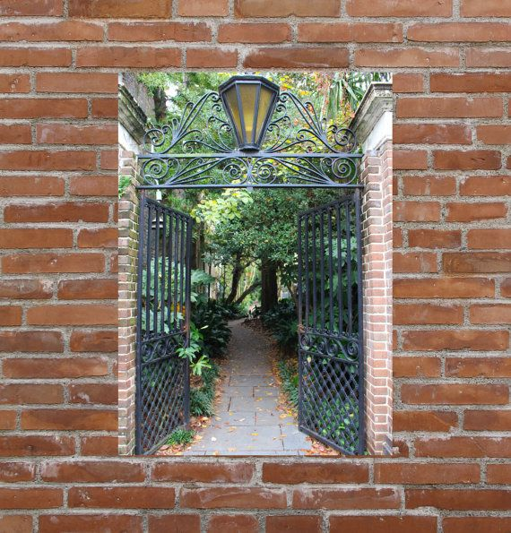 charleston photograph charleston metal wall art large metal wall art cemetery photo historic charleston travel photo
