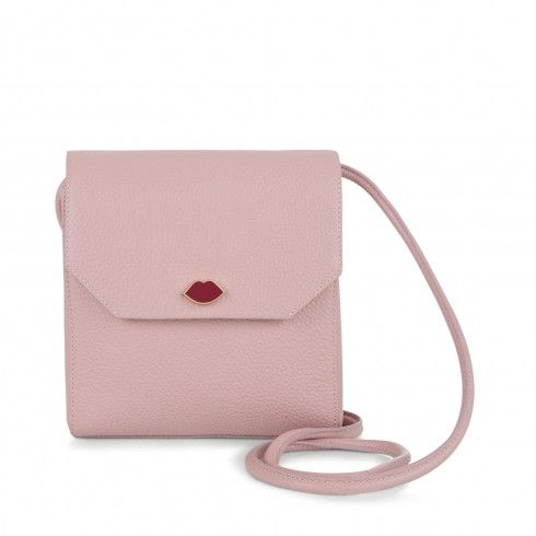 Nude Rose Grainy Leather Small Gabrielle