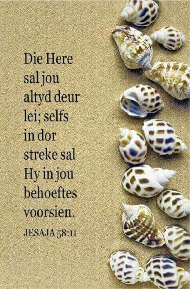 Teks - Jes 58:11 #Afrikaans #Scripture More
