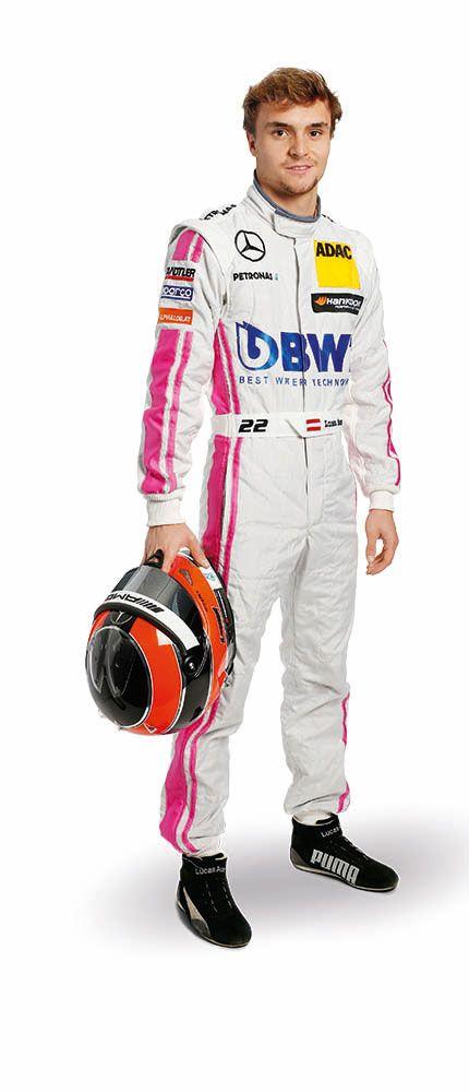 Lucas Auer drives 2016 for Mercedes-AMG DTM Team Mücke in the DTM