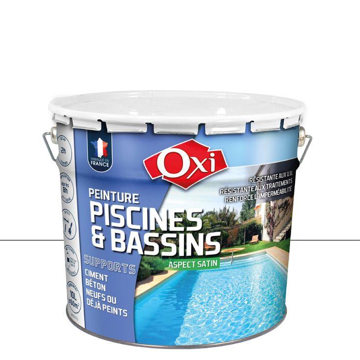 Peinture Piscine Et Bassin Exterieur Oxytol Blanc 10 L Peinture Piscine Bassin Exterieur Et Bassin