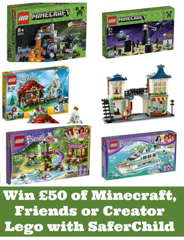 Today, thanks to the new SaferChild Smart Locator for your kids, we have £50 of #Lego to #giveaway in our countdown. Closes 27th August.
