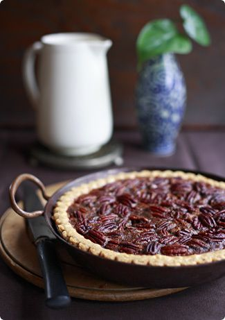 Pecan Pie (With Golden Syrup)