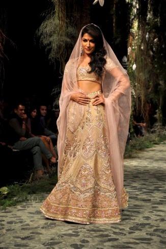 Chitrangada Singh in a Tarun Tahiliani bridal couture