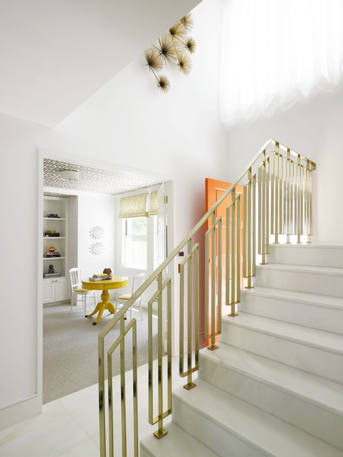 Best Modernist Brass Railing In A Home In Sydney Australia 400 x 300