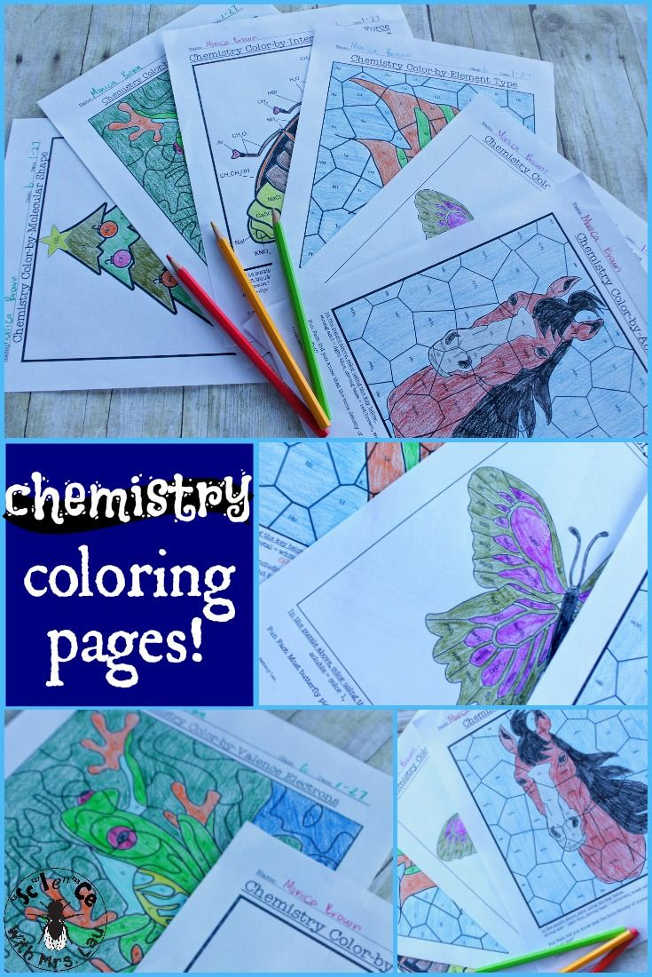 high school science coloring pages - photo#36