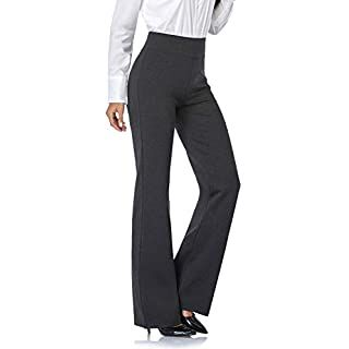 NAVISKIN Women/'s Bootcut Yoga Pants Bootleg Pants Back Pockets Length 31 inseam