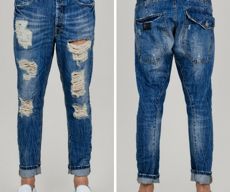 SEVEN 7 Denim - Ανδρικό παντελόνι τζιν, με σκισίματα και πλάγιες ραφές.  #Hip #Hipyourtshirts #Hipyourstyle #Style #New #Womens #Mens #Fashion #7Denim #SevenDenim #Denim #Jeans #AW15 #Collection #Exclusive #Rhodes #Greece