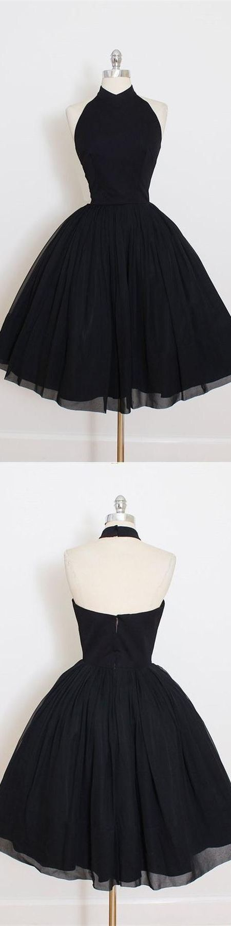 Homecoming Dresses,Vintage Homecoming Dresses,Black Homecoming Dresses,Sweet 16 Dresses,Simple Homecoming Dresses,Cheap Homecoming Dress,Halter Homecoming Dresses Cocktail Dresses DR0144