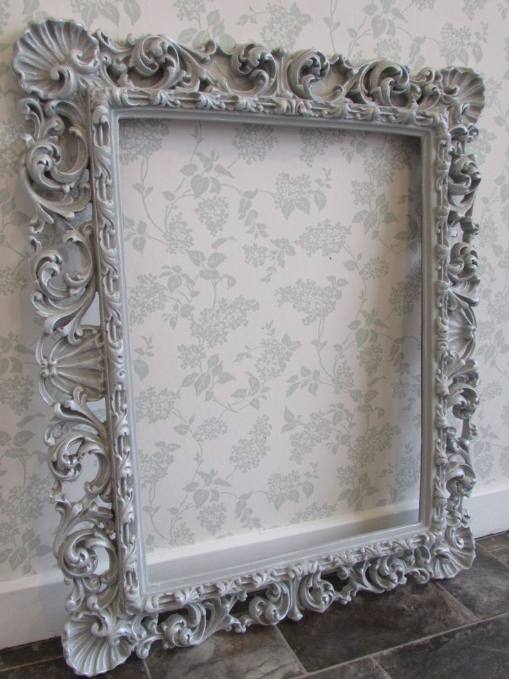 Paris Grey And Silver Wax Frame Annie Sloan In 2019