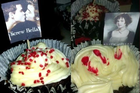Twilight cupcakes med kokossmak