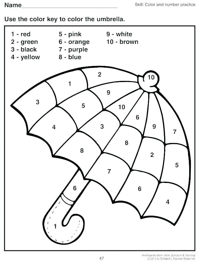 Image Result For Colouring Numbers 1 20 Kindergarten Coloring