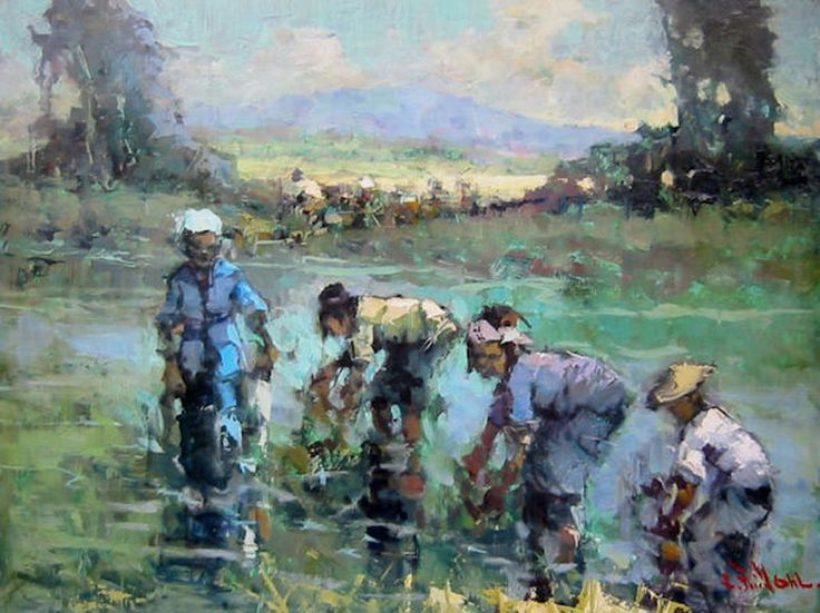 Lucien Frits Ohl - Vrouwen op de sawa`s