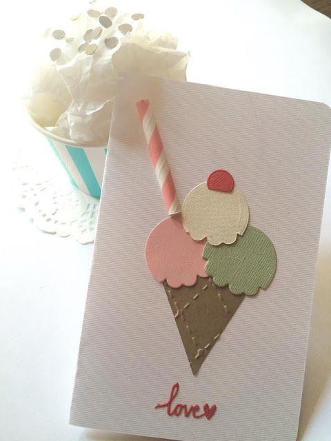 Pasticci di carta - Sizzix project: Ice cream
