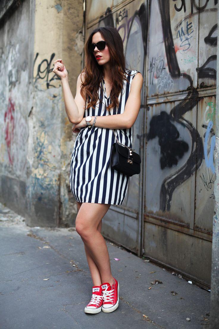 #fashion #fashionista @ireneccloset converse rosse