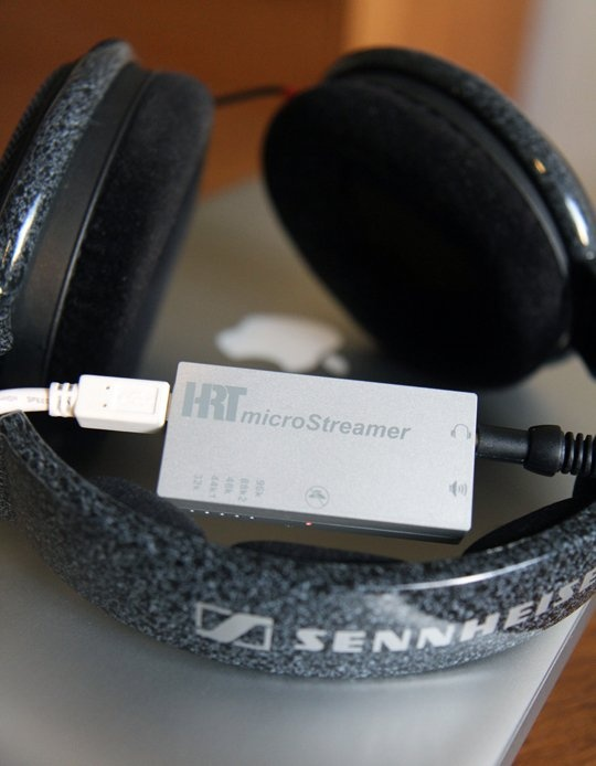 High Resolution Technologies microStreamer USB Headphone DAC Tech Test Lab Review