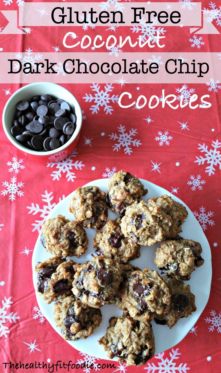 coconut dark chocolate chip cookies chocolate morsels dark chocolate ...