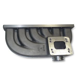 Turbo Manifold for 2002 to 2005 24V VR6 FWD and 3.2L R32 AWD. Turbo Manifold for the 24V version of the VR6 engine found in selected Front Wheel Drive models Golf/Jetta/GTI/GLI (in model year 2002 through 2005) as well as the MKIV R32 3.2L, Manifold is both T3 and T4 flanged for a wide range of Garrett turbos such as T3/T4, T04, GT3071R, GT3076R, GT3582R, and has plenty of room to run the 700 to 800HP GT4088R/GT4094R series turbos. Manifold is also appropriately equipped with the Tial 44mm…