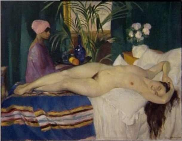 Courtisane endormie (1920) - Centre G. Pompidou - Paris - Henry Ottmann ______________________________ ♥♥♥ deniseweb.free.fr ♥♥♥