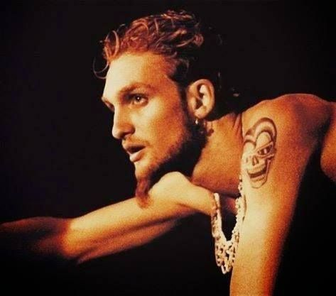 """Layne Staley  """" I remember one time going to the Grammys with Layne. We'd go to these Grammys parties with people like Robert De Niro, Michael Bolton and Nicollette Sheridan-all these crazy celebrities-and then you got this wacky grunge guys walking in. But no matter who was in the room, everybody would always look at Layne. He just had this compelling energy about him. It's hard to put your finger on."""" Mike Inez"""
