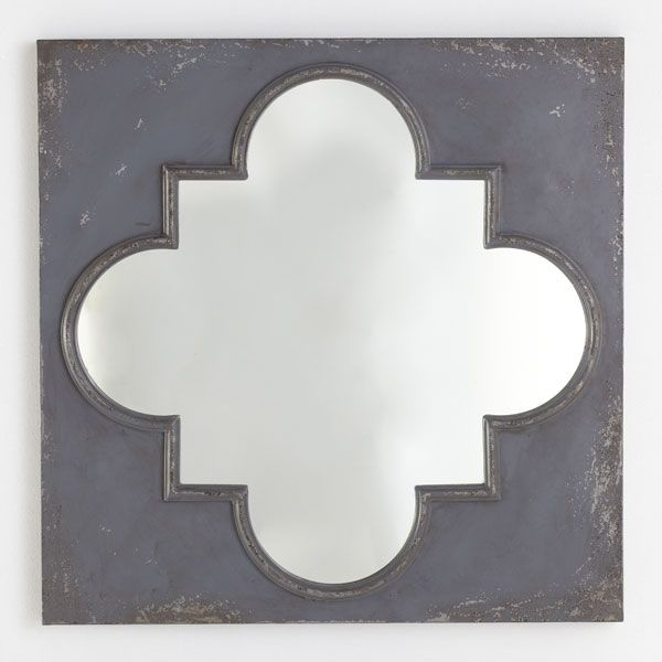 Quatrefoil Metal Wall Decor : Best images about mirror on queen anne
