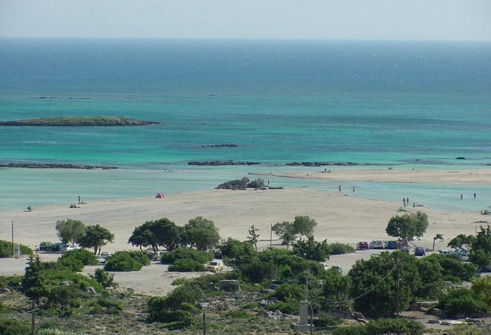 Elafonisi beach, off season