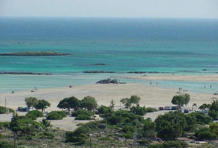 Elafonisi beach, off season