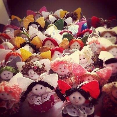Küçük Süs Kızlar / Little Girl Ornaments