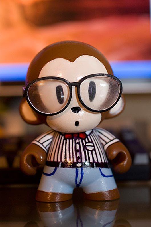 Codemonkey Munny Make Your Own Customizable Kidrobot