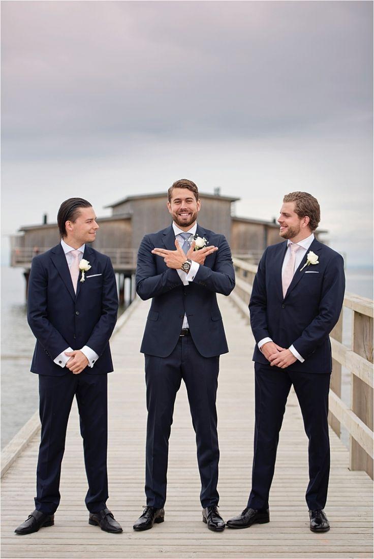 Bröllop Båstad - Kallbadhuset Sweden. #wedding #groom #groomsmen #kallbadhuset #portraits #elegant #realwedding #outdoorportraits #summer #beach #ocean #summerwedding #swedishwedding #photographer #naturallight #realweddings #porträtt #portraits #kullafoto #annalauridsen #bröllop #båstad #bröllopsfotograf #bryllup #bryllupsfotograf  Bröllop Båstad Skåne [Photo by Anna Lauridsen Kullafoto