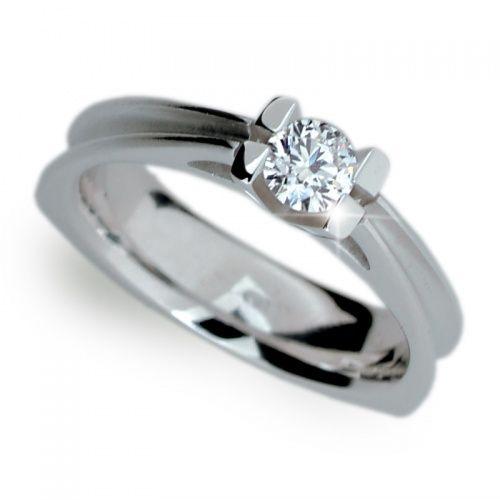 Zásnubní prsten bílé zlato ZP1992