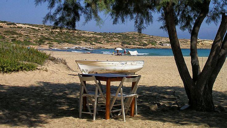 Sarakiniko beach (Σαρακήνικο), Gavdos Island!  Read more about this relaxing place: http://cretazine.com/en/crete/travel-explore/beaches/item/1802-sarakiniko-beach-gavdos