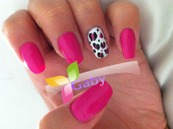 uñas / nails /animal print