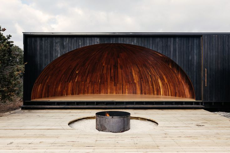 Completed in 2017 in Mount William, Australia. Images by Adam Gibson, Jordan Davis. This Standing Camp (krakani lumi or place of rest) in Tasmania's North East National Park is for the Aboriginal Land Council of Tasmania. The site...